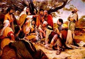 Jesus and the 72 disciples